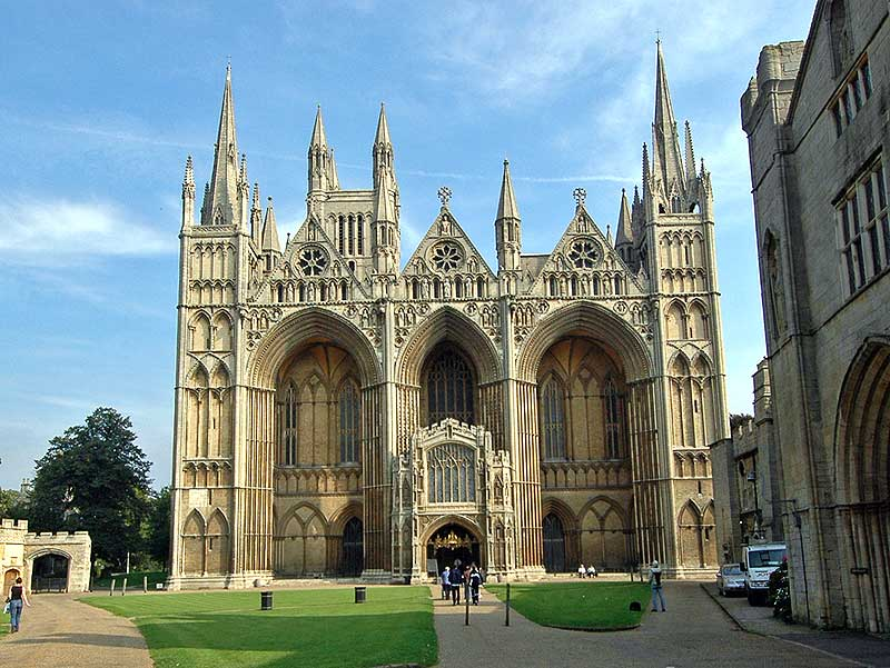 Nearby Peterborough Cathedral
